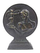 Franz Iffland Bronze Figur Medaille Kugelstoßen Allianz Sport 1937