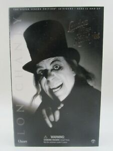 """Sideshow Toy London After Midnight Lon Chaney 12"""" Figure Silver Screen Edition"""