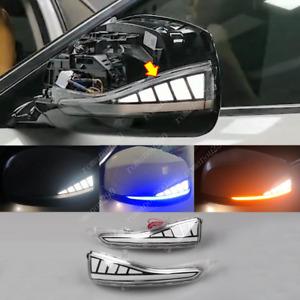 For Infiniti Q30 Q50 Q50S/L Q60 Q70 LED Rearview Mirror Light Turn Signal 2pcs