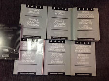 2006 DODGE CARAVAN MINI & CHRYSLER TOWN & COUNTRY Service Shop Manual SET OEM