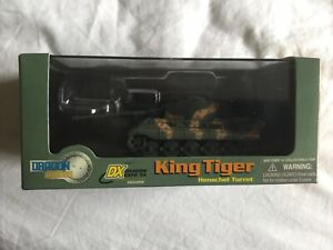 Dragon Armor 1:72 DX04 King Tiger LTD To 999 Pieces 60100