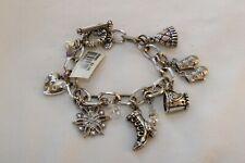 Authentic Brighton Wonderland Winter Charm Bracelet