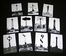 LOT 11 CP SURREALISTE BASTILLE DESSIN YVES YACOEL EDITION MUSEE LA POSTE PARIS