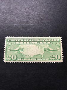 US Scott #C9 VF-XF Mint Very Light Hinge,Bright Rich Color 1926-27