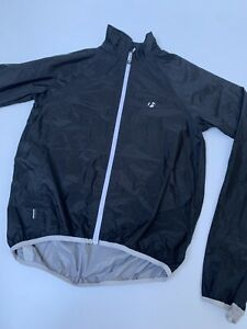 Bontrager Trek Cycling Cape Jacket Rain Wind Size Medium Zip Up Coat