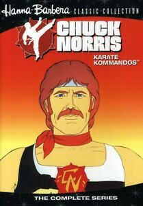 CHUCK NORRIS: KARATE KOMMANDOS NEW DVD