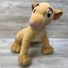 "2002 Hasbro Large Jumbo 17"" NALA The Lion King Plush Disney Stuffed Animal"