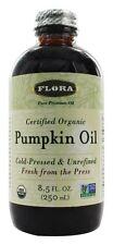 Flora - Pumpkin Oil Certified Organic - 8.5 oz.