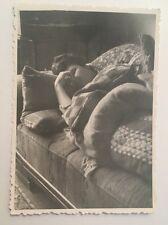 PHOTO ANCIENNE - VINTAGE SNAPSHOT - Woman, Sleeping