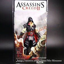 Neca Assassin's Creed 2 EZIO Black Cloak Series 1 7 inch Action Figure 2012 New