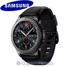 Genuine OEM Samsung Galaxy Gear S3 Frontier Black SM-R760 Bluetooth Smartwatch