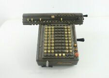 Antique Vintage MONROE Adding Calculator Machine Store Counter Display Holland
