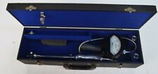 West Instrument Corporation Tmp-365 Thermometer 0-400 Degrees Probes & Case