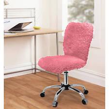 Urban Shop Faux Fur Task Chair