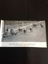 L1-3 Ephemera 1968 Small Picture Horse Racing Goodwood Cease Fire Inclination