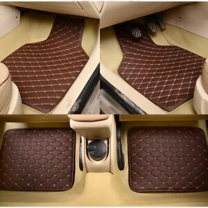4Pcs/Set Waterproof Front & Rear Liner Car Floor Mats For Interior Accessories