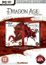 Dragon Age: Origins The Ultimate Edition PC Brand New Factory Sealed