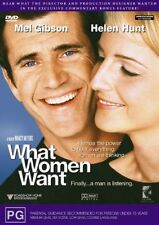 What Women Want (DVD, 2001) Mel Gibson R4 Brand New Sealed Free Postage