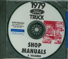 1979 FORD TRUCK SHOP  REPAIR MANUAL ON CD-ALL MODELS