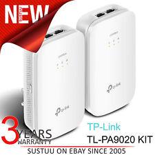 TP-Link TL-PA9020 Kit AV2000 2-port Gigabit 4K Powerline Starter Kit│2000 Mbps
