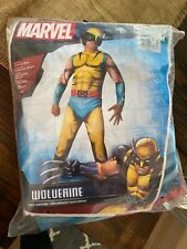 Marvel NWT Child's Deluxe Muscle-Chest Wolverine Costume Size Medium