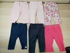 6x Baby Girls 6-9Months Leggings/Jeans Jasper Conran F&F George Bambini Carter's