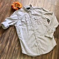 👕INC👕Men's Roll Tab Button Up Shirt | MEDIUM |