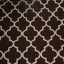 "Outdoor Upholstery Moroccan brown  Waterproof Canvas fabric 60"" wide 25 yards"