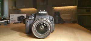 Canon EOS 700D kit (w/ EF-S 18-55mm f/3.5-5.6 IS II lens & battery) - black