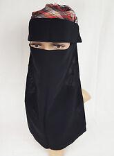 Niqab Face cover Veil Muslim women hijab saudi nikab cover-up niqaabs with flap