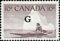 Canada Scott O39 Inuk and Kayak, Eskimo Hunter  VF MNH OG (19952)