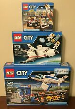 LEGO City Training Jet Transporter 60079 W/ Extras, Lot of 3, Brand New