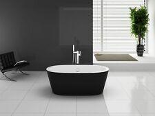 BW-IX024 170x80x58 cm Freistehende Badewanne aus Acryl Wanne mit Ab- / Überlauf
