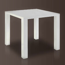 Esstisch BARMEN weiß hochglanz Tisch Küchentisch Esszimmertisch MDF lackiert