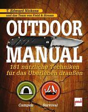 OUTDOOR Manual 181 nützliche Techniken Wildniss Natur Überleben Survival-Buch