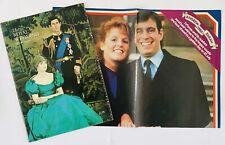 Royal Wedding 1981+1986 DOUBLE LOT - Official Souvenir Programme Charles & Diana