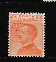 S35611 Italy 1926 MNH New Definitive 60c 1v Saxon 205f Decal