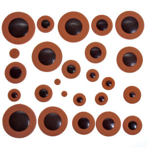 Orange Alto Saxophone Pad Woodwind Sax Leather Pads for Yamaha Size Replacement