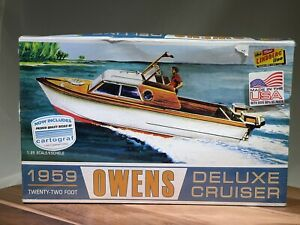 Lindberg 1959 Owens Deluxe Cruiser New In Dented Box