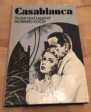 Casablanca Script and Legend Howard Koch 1st Pt w/DJ Roger Ebert, Umberto Eco VG