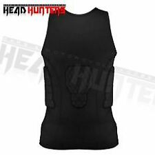 Head Hunters Motorcycle Body Safety Pad - Large (Black)