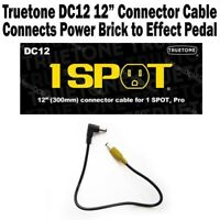 """1-SPOT 12"""" Power Connector Cable Guitar Pedal Adapter DC12 Truetone Visual Sound"""