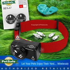 PetSafe PIF-275-19 Wireless Fence Dog Collar Receiver RFA-67 PIF-300 Red Strap
