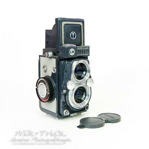 Yashica 44LM in Lovely Condition with Extras