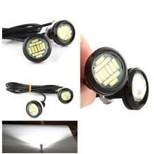 10pcs White 15W Eagle Eye Light Reversing Backup Turning light Super Sealability