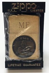 1932–1992 60th Anniversary Tuxedo Joe Camel Unfired Brass Zippo Lighter and Box