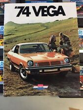 1974 Chevrolet Vega Brochure USA