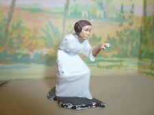FIGURINE EN METAL = PRINCESSE STAR WARS - MADE IN  CHINA 1994