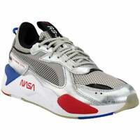 Puma Rs X Space Agency Lace Up  Mens  Sneakers Shoes Casual   - Silver