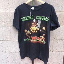 Marilyn Manson T Shirt Large Mens Portrait Of American Family Rock Bay Island